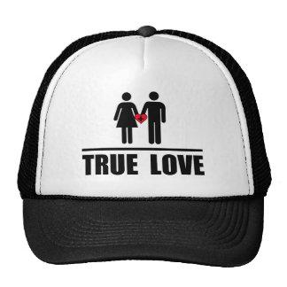 Boda tradicional del amor verdadero gorra
