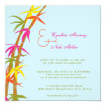 Boda tropical - invitaciones de boda invitación 13,3 cm x 13,3cm