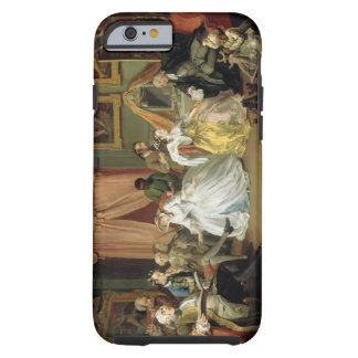 Boda un modo del la: IV, el Toilette, c.1743 Funda De iPhone 6 Tough