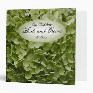 "Boda verde de la flor del Hydrangea de Annabelle Carpeta 2"""