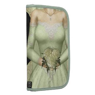 Boda verde de novia y del novio organizador