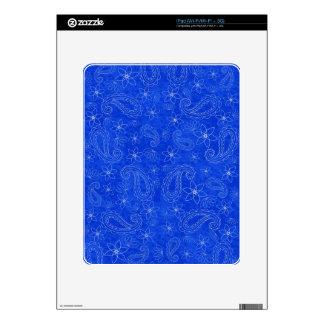 Bodacious Blue Decal For iPad