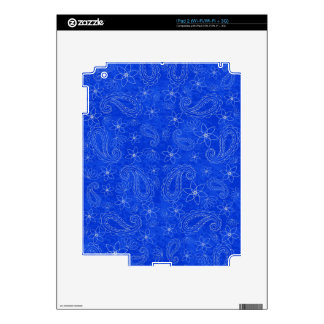 Bodacious Blue Decals For The iPad 2