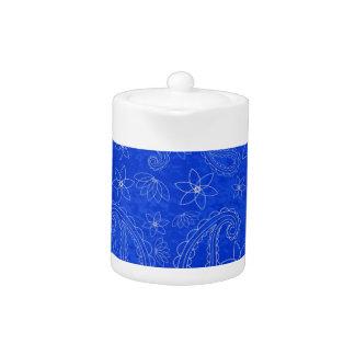 Bodacious Blue Teapot