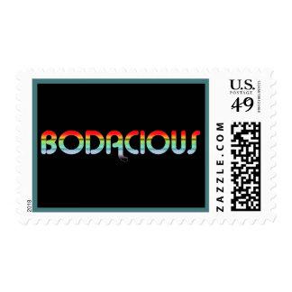Bodacious retro 80s sellos