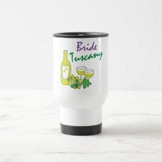 Bodas de Toscana novia Tazas