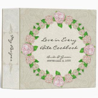 """Bodas elegantes formales florales del cordón rosad carpeta 2"""""""
