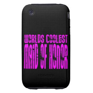 Bodas frescos: La criada más fresca de los mundos  iPhone 3 Tough Cobertura