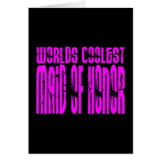 Bodas frescos: La criada más fresca de los mundos  Tarjeton