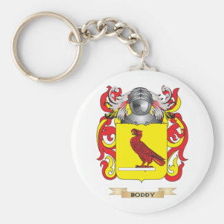 Boddy Coat of Arms (Family Crest) Basic Round Button Keychain