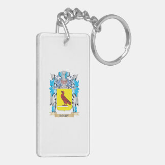 Boddy Coat of Arms Double-Sided Rectangular Acrylic Keychain