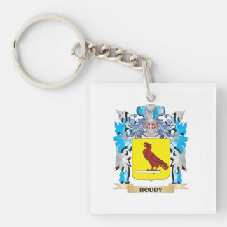 Boddy Coat of Arms Single-Sided Square Acrylic Keychain