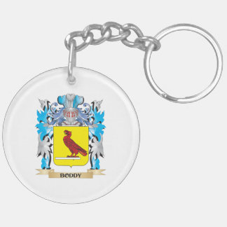 Boddy Coat of Arms Double-Sided Round Acrylic Keychain