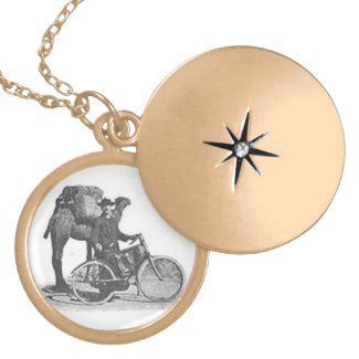 Boddy's Bicycle Tours-Gold Locket