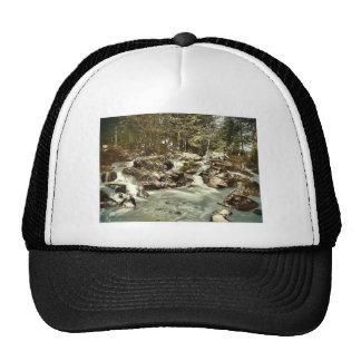 Bode Waterfall, Braunlage, Hartz, Germany rare Pho Mesh Hat