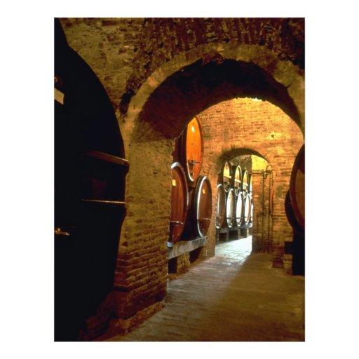 Bodega en Montepulciano, Toscana, Italia Tarjetas Informativas