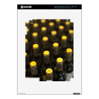 Bodega Marques de Riscal winery, wine bottles iPad 3 Decals