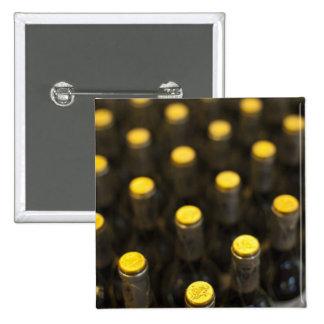 Bodega Marques de Riscal winery, wine bottles Pinback Button