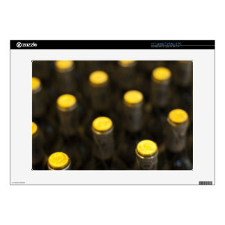 """Bodega Marques de Riscal winery, wine bottles 15"""" Laptop Decal"""