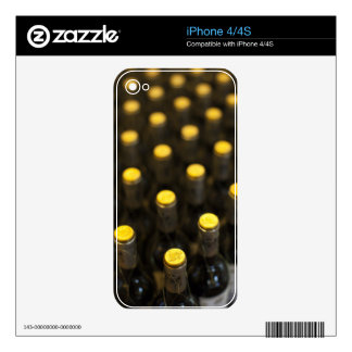Bodega Marques de Riscal winery, wine bottles Skin For The iPhone 4