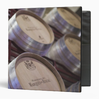 Bodega Marques de Riscal winery, wine cellar 2 Vinyl Binder