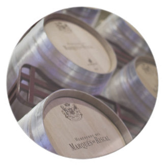 Bodega Marques de Riscal winery, wine cellar 2 Party Plate