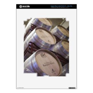 Bodega Marques de Riscal winery, wine cellar 2 iPad 3 Decal