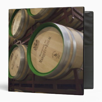 Bodega Marques de Riscal winery, wine cellar 3 Ring Binder