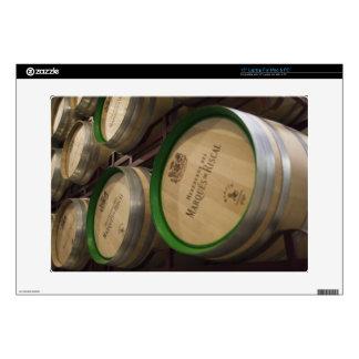 Bodega Marques de Riscal winery, wine cellar Laptop Decal