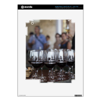 Bodega Marques de Riscal winery, wine tasting iPad 3 Decal
