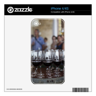 Bodega Marques de Riscal winery, wine tasting Skin For iPhone 4