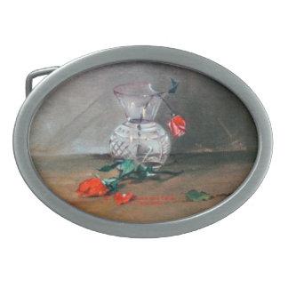 Bodegón/Natureza morta/Still life Oval Belt Buckle