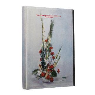 Bodegón of flowers/Still life of flowers iPad Cases