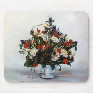 Bodegón of flowers/Still life of flowers Mouse Pad
