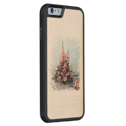 Bodegón of flowers/Still life of flowers Carved® Maple iPhone 6 Bumper