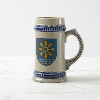 Bodensee district coat of arms beer stein