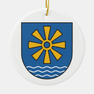 Bodensee district coat of arms ceramic ornament