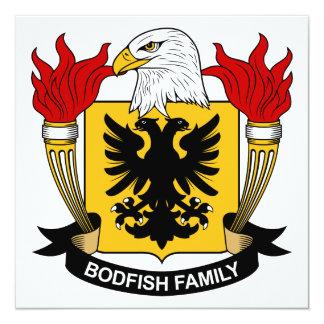 Bodfish Family Crest Card