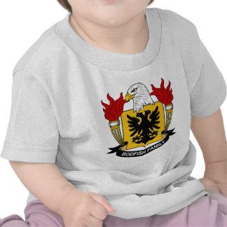 Bodfish Family Crest T-shirts