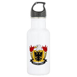 Bodfish Family Crest Water Bottle