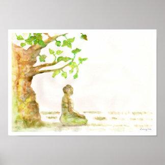 Bodhi Tree Poster Print
