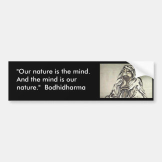 Bodhidharma 1 bumper sticker