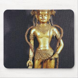 Bodhisattva Avalokitecvara, 15th-16th century Mouse Pad