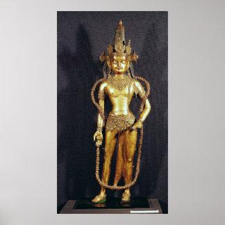 Bodhisattva Avalokitecvara décimo quinto-décimose Posters