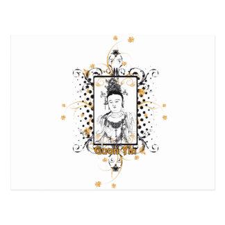 Bodhisattva de Guan Yin Tarjetas Postales