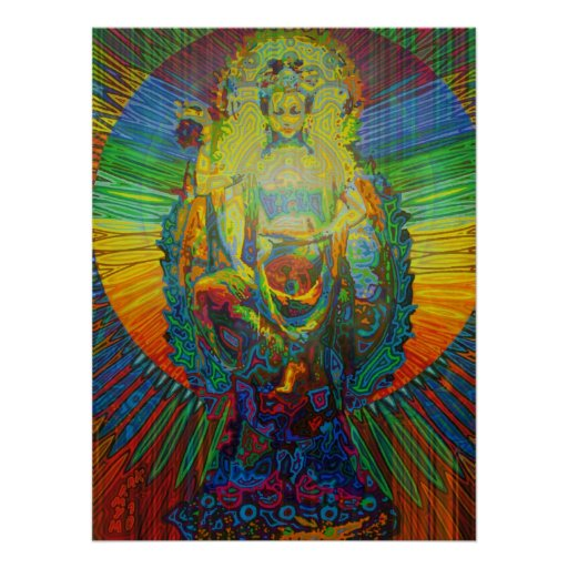 bodhisattva digitally 2011 poster