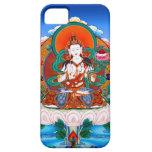 Bodhisattva fresco Mahasat de Sarvanivarana Viskam iPhone 5 Case-Mate Cárcasas