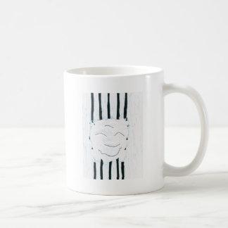 Bodhisattva from the rain classic white coffee mug