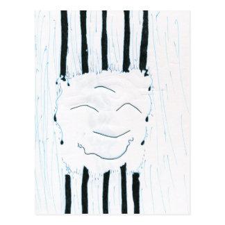 Bodhisattva from the rain postcard
