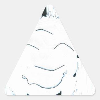 Bodhisattva from the rain triangle sticker